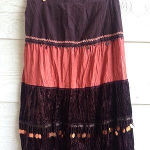 Lucy Paris Maxi Skirt